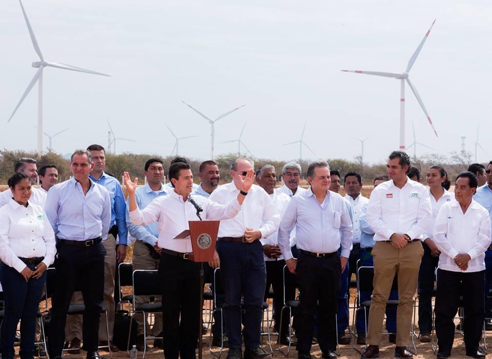 ENERGÍAS LIMPIAS SON EL FUTURO PARA MÉXICO Y EL MUNDO: EPN
