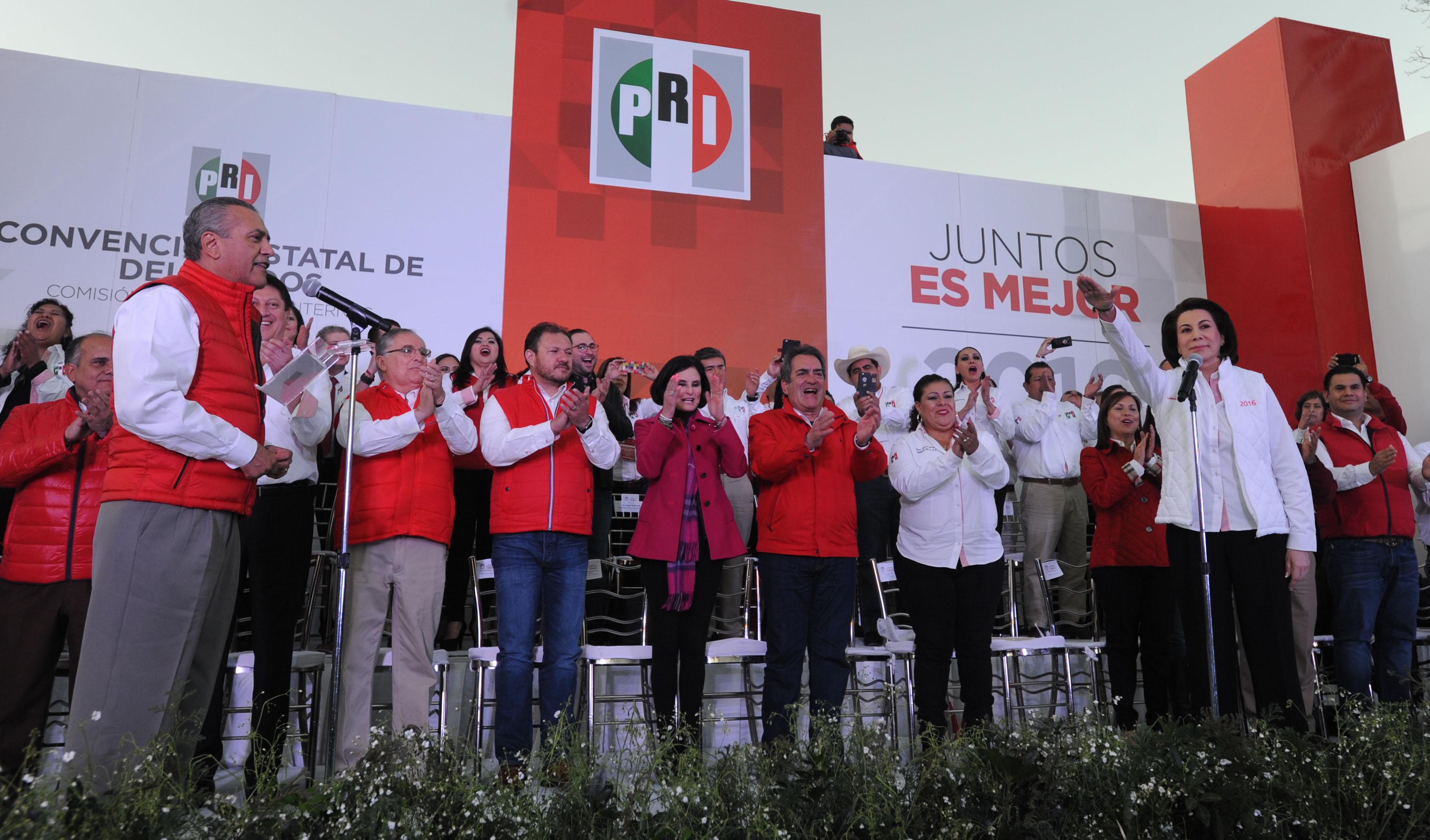 LORENA MARTÍNEZ, CANDIDATA DEL PRI POR AGUASCALIENTES