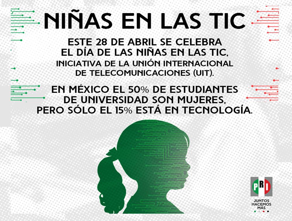 La participación de las niñas en las TIC