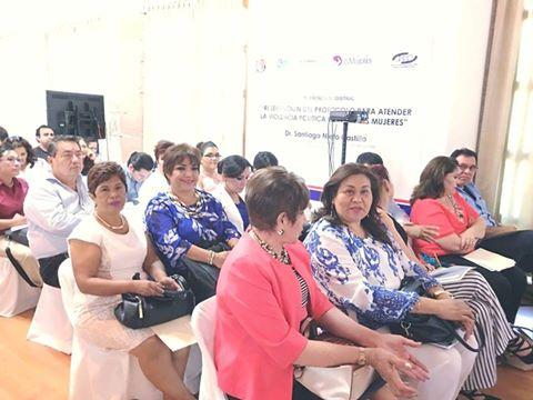 """Conferencia magistral """"Presentación del Protocolo para atender la Violencia Política contra las Mujeres"""""""