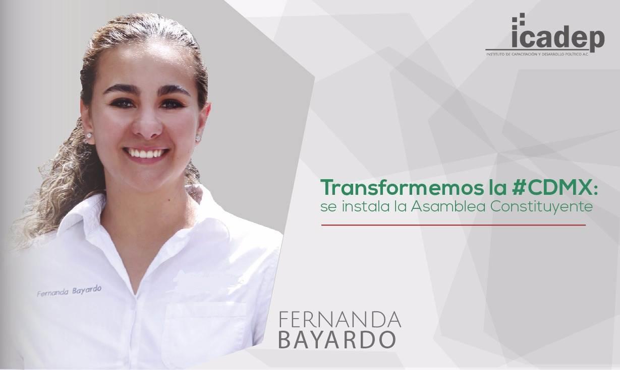 Transformemos la #CDMX: se instala la Asamblea Constituyente