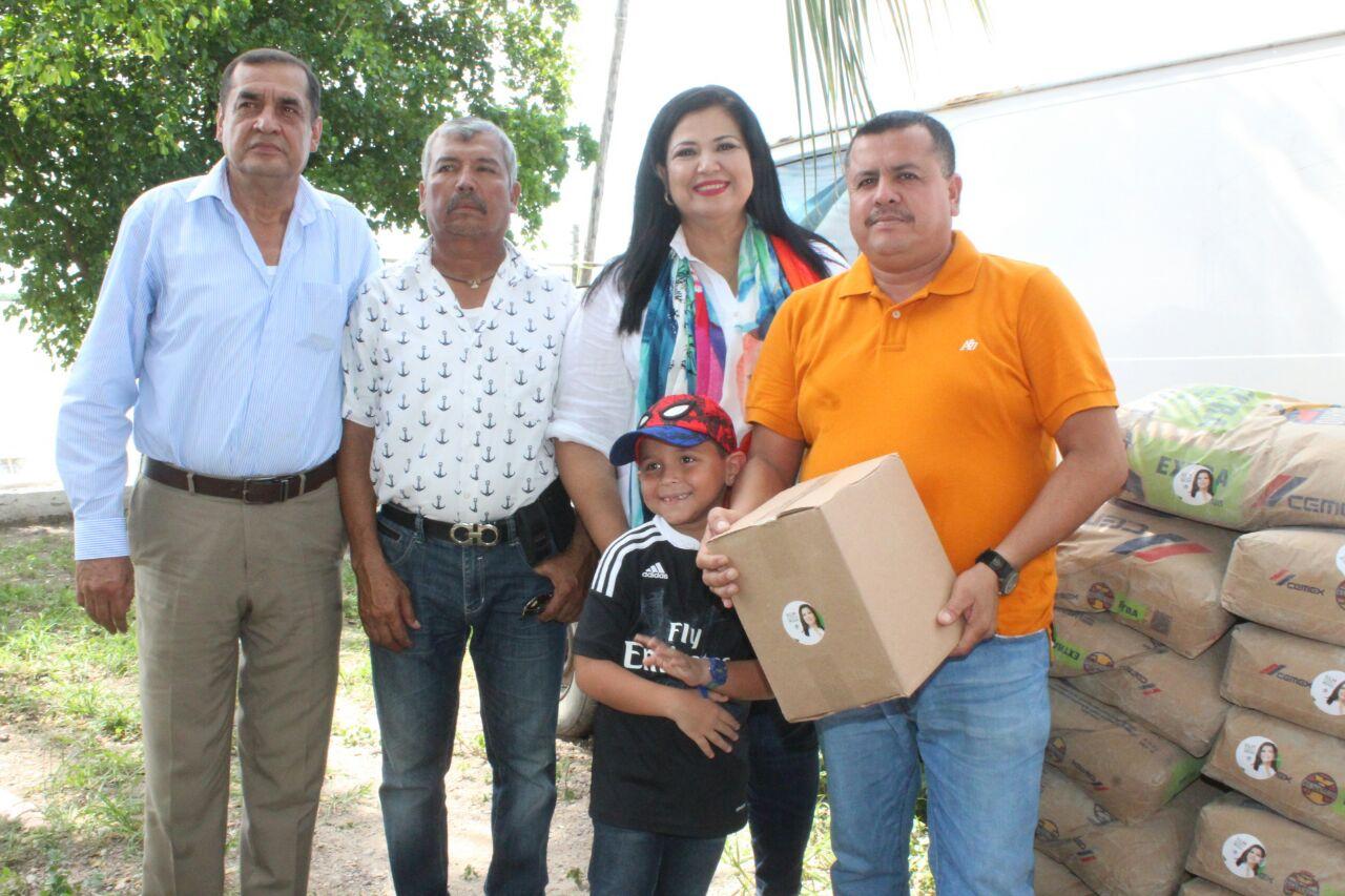 EL DESARROLLO DE LAS COMUNIDADES RURALES, OBJETIVO PRIMORDIAL: ROSA ELENA MILLÁN