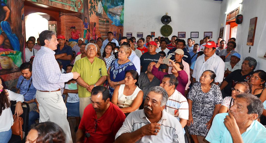 DIRIGENCIA Y PRIISTAS DE SALINA CRUZ Y  TEHUANTEPEC REACTIVAN TRABAJO POLÍTICO