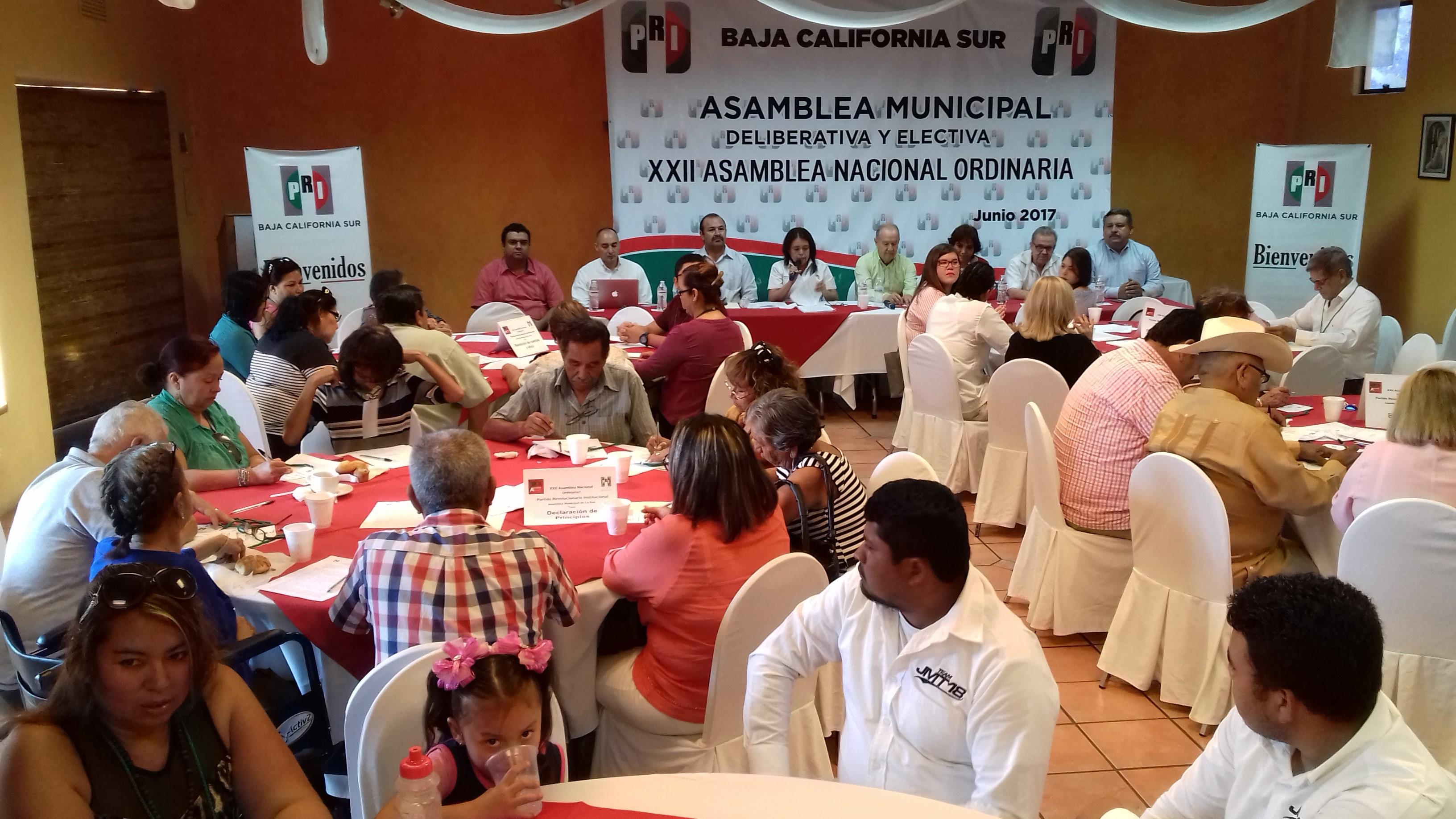 CELEBRAN ASAMBLEA MUNICIPAL DE LA PAZ PARA DELIBERACIÓN DE  MESAS TEMÁTICAS HACIA LA XXII ASAMBLEA NACIONAL