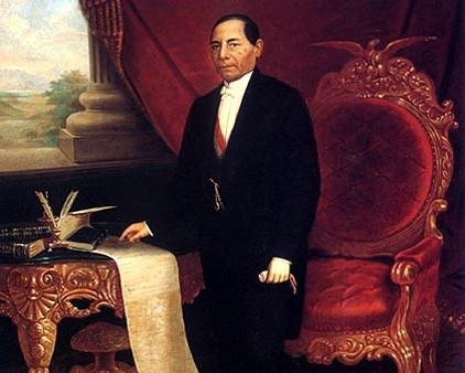 """En 1873. El Congreso de la Unión declara a Benito Juárez """"Benemérito de la Patria""""."""