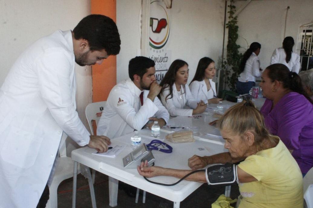 CELEBRAN JORNADA DE SERVICIOS MÉDICOS EN LA COLONIA CAMPESINA EL BARRIO