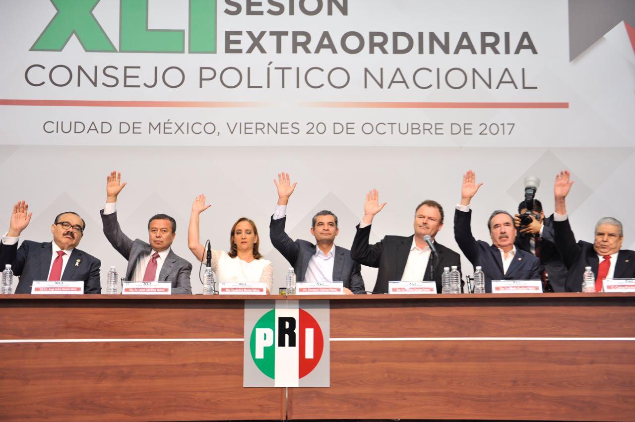 HOY INICIAMOS EL CAMINO A LA VICTORIA DEL 2018: ENRIQUE OCHOA REZA
