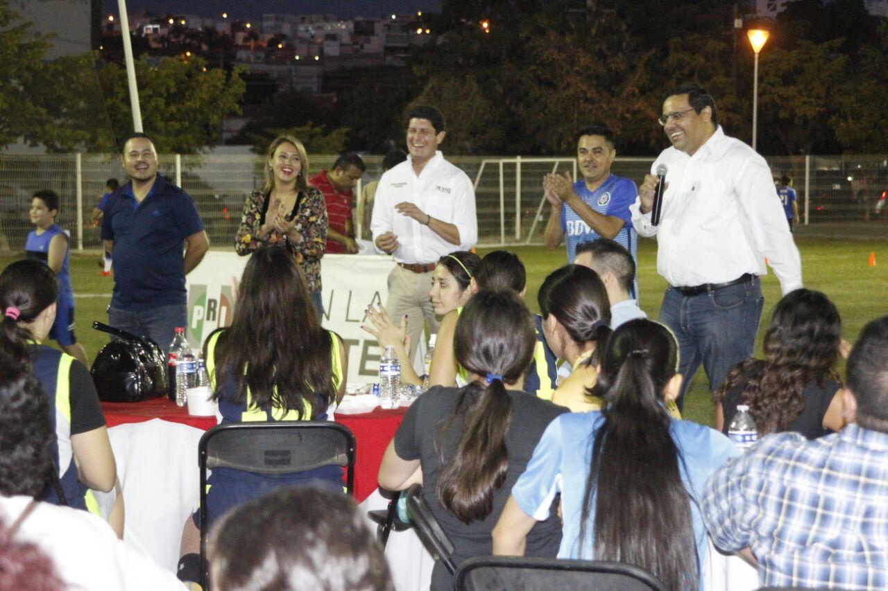 LA DIRIGENCIA ESTATAL DEL PRI SOSTIENE ACERCAMIENTO CON ESTRUCTURA DEPORTIVA DE LA ZONA NORTE DE CULIACÁN