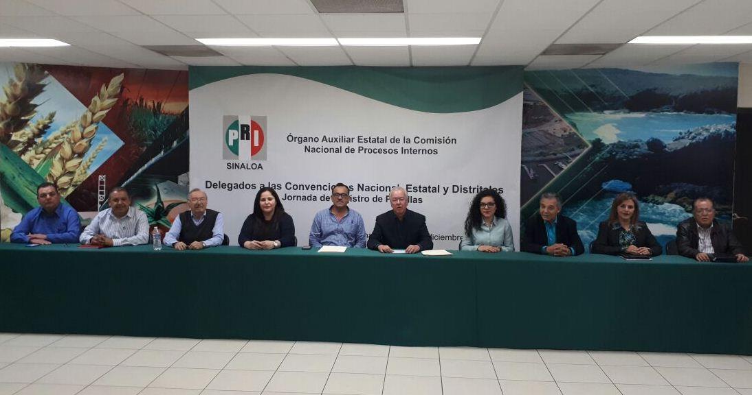 INSTALA PRI JORNADA DE REGISTRO DE PLANILLAS A ASPIRANTES A DELEGADOS QUE ELEGIRÁN LAS Y LOS CANDIDATOS PARA EL PROCESO ELECTORAL FEDERAL