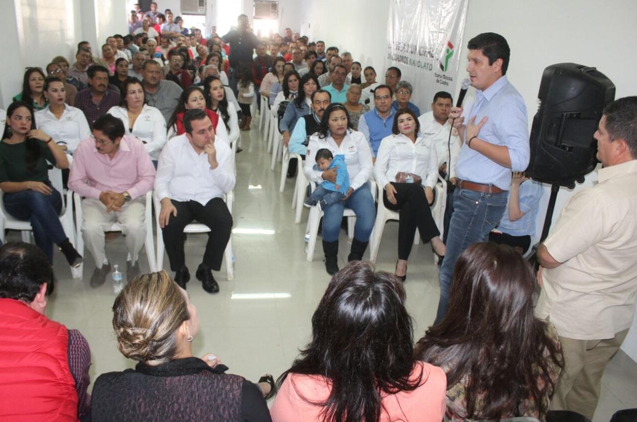 EL PRIISMO DE NAVOLATO ESTÁ LISTO Y COMPROMETIDO PARA ARRASAR EN EL PROCESO ELECTORAL: CARLOS GANDARILLA