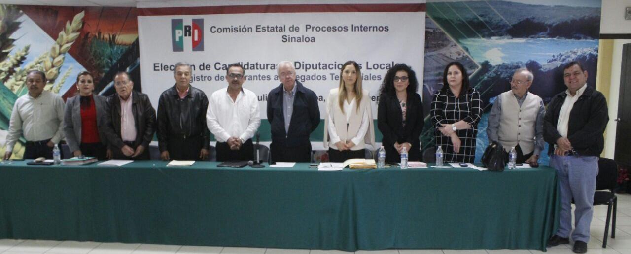 ABRE PRI REGISTRO DE ASPIRANTES DELEGADOS TERRITORIALES PARA ELECCIÓN DE CANDIDATURAS A DIPUTADOS Y PRESIDENCIAS MUNICIPALES