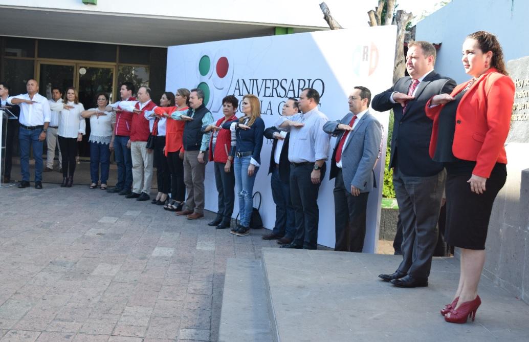 CONMEMORARÁN LOS COMITÉS MUNICIPALES EL ANIVERSARIO 89 DEL PARTIDO REVOLUCIONARIO INSTITUCIONAL