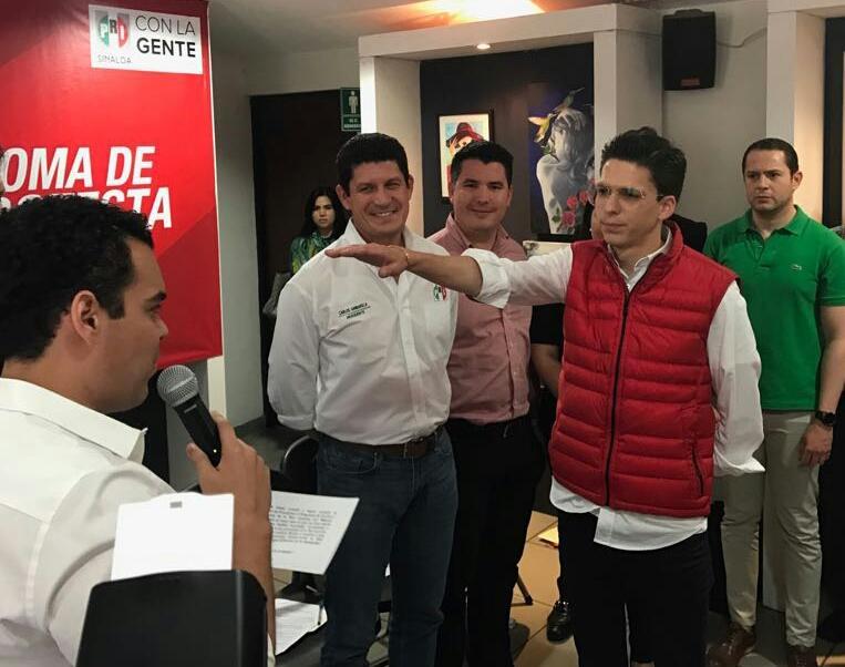 GERARDO VARGAS TORRES TOMA PROTESTA COMO DIRIGENTE ESTATAL DE LA RED JÓVENES POR MÉXICO