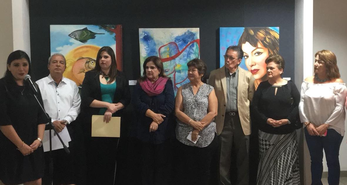 INAUGURAN EXPOSICIÓN  'EL ARTE EN LAS MUJERES Y LAS MUJERES EN EL ARTE'
