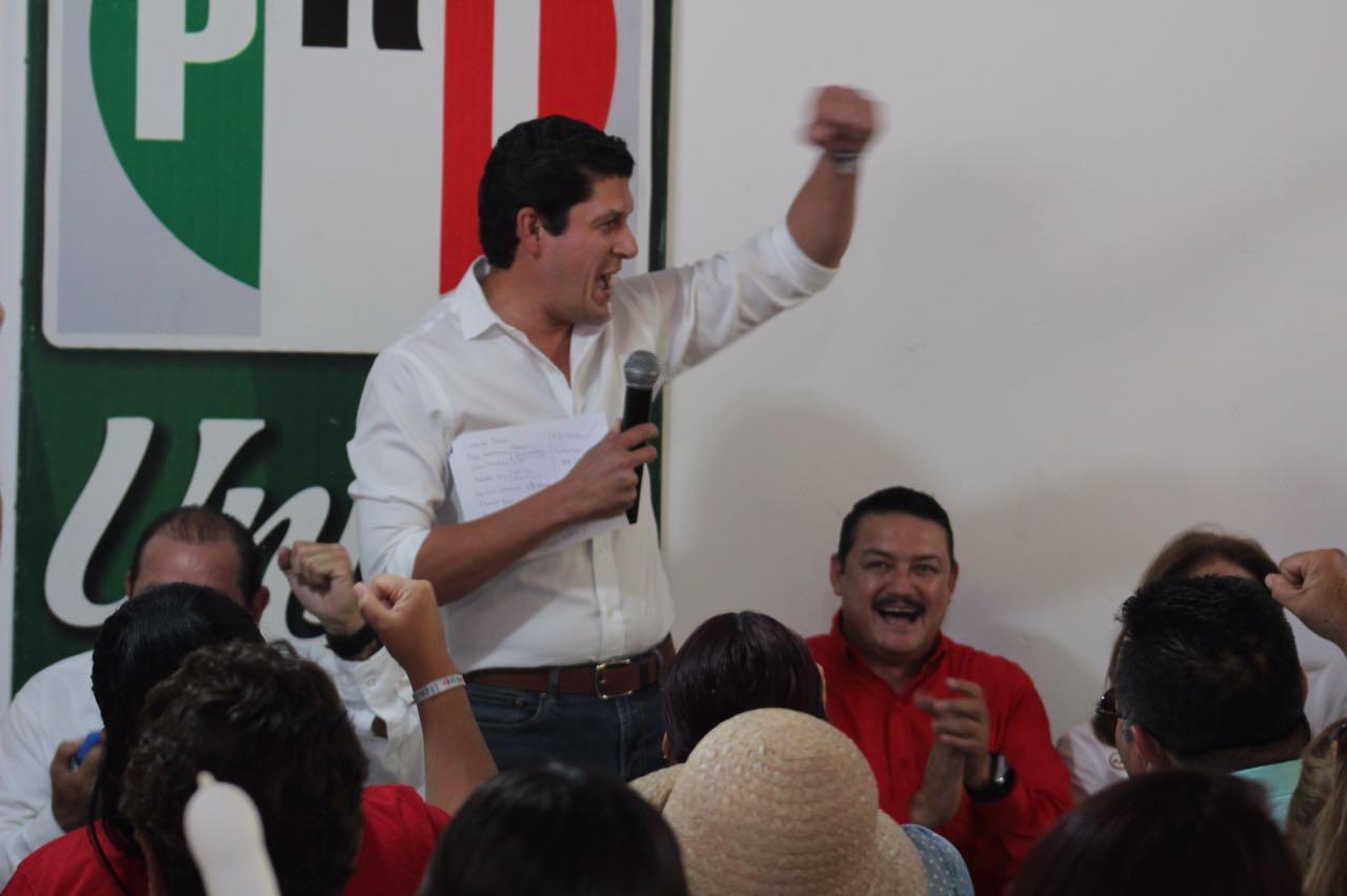 UNIDOS EN COALICIÓN, EL PRI GENERA CONDICIONES PARA GANAR ELECCIONES: CARLOS GANDARILLA