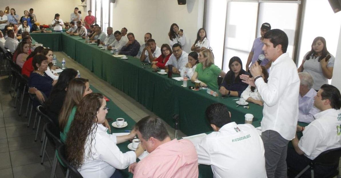 SECTORES Y ORGANIZACIONES REFRENDAN APOYO ABSOLUTO A CANDIDATAS Y CANDIDATOS DEL PRI