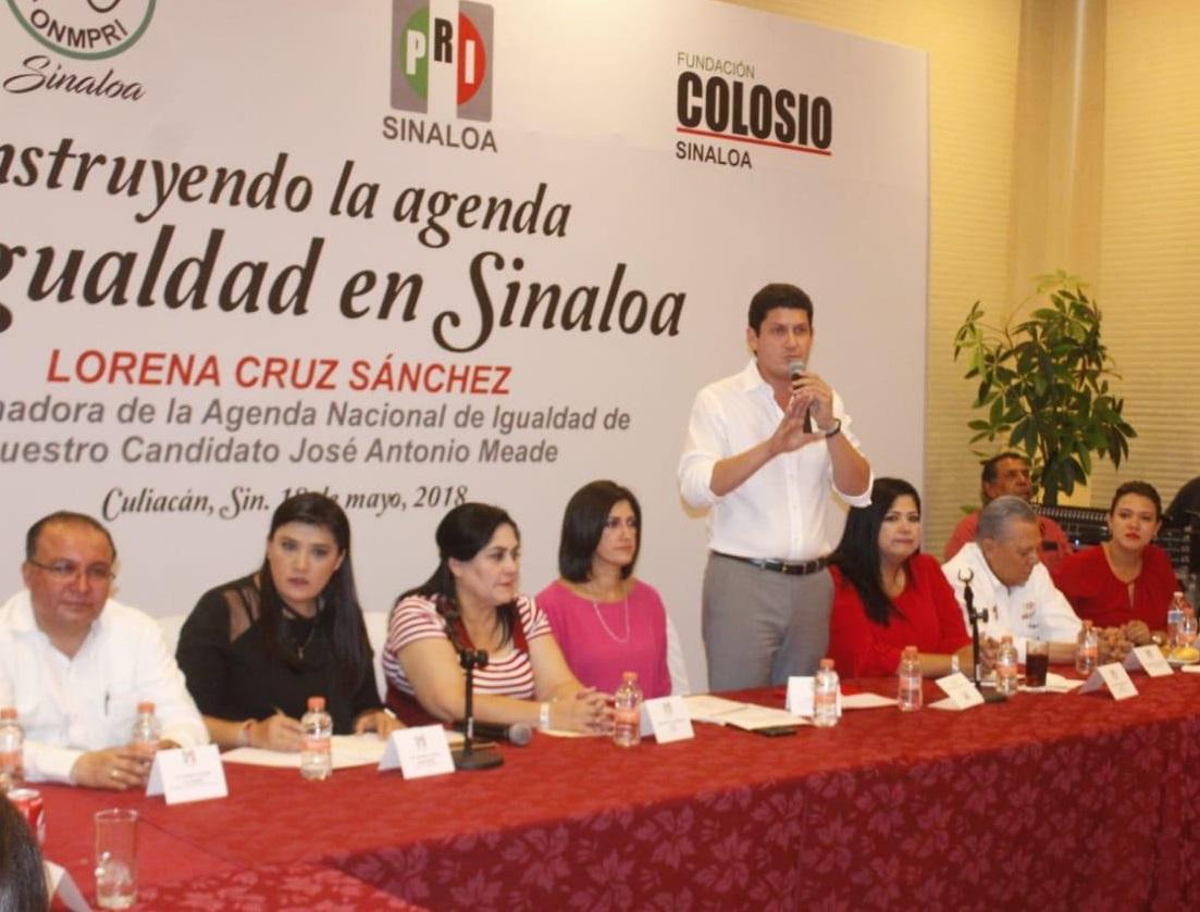CANDIDATAS Y CANDIDATOS DEL PRI CONSTRUIRÁN JUNTO A JOSÉ ANTONIO MEADE UNA AGENDA DE IGUALDAD EN SINALOA