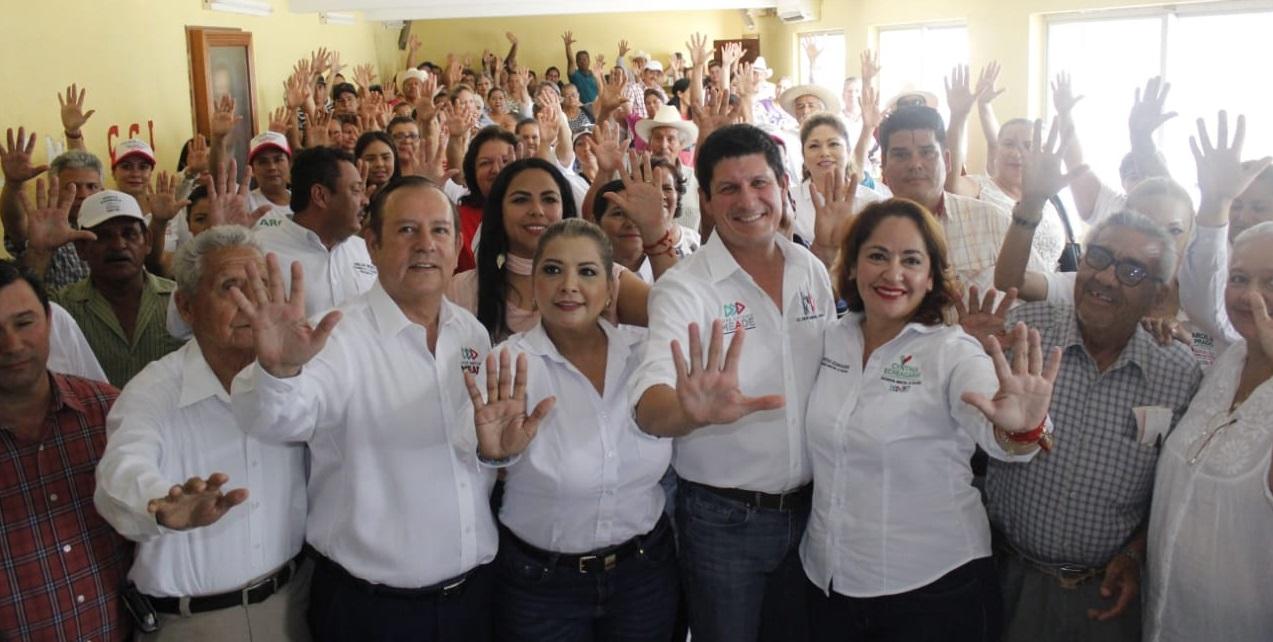 EL PRI NO SE RAJA, CON VALENTÍA Y UNIDAD VAMOS A GANAR EN ROSARIO: CARLOS GANDARILLA