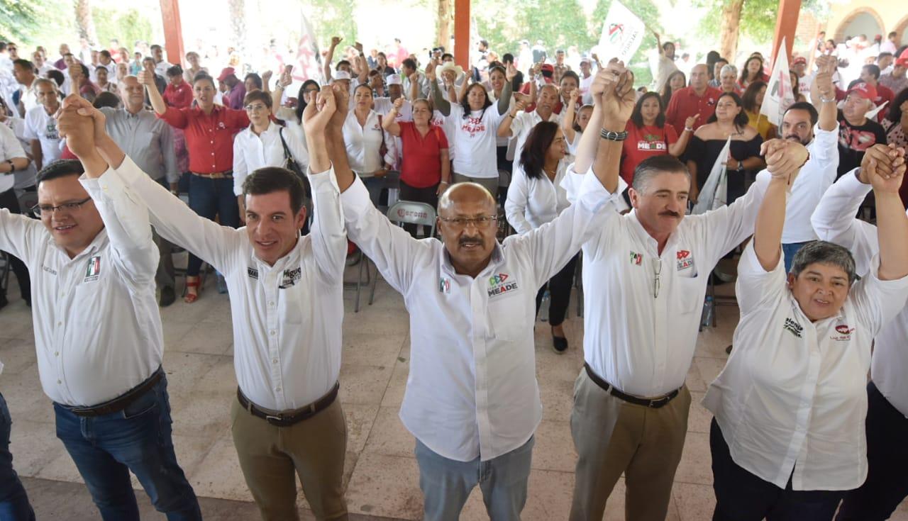 CON PEPE MEADE MÉXICO TENDRÁ CONFIANZA  Y CERTIDUMBRE: RENÉ JUÁREZ CISNEROS