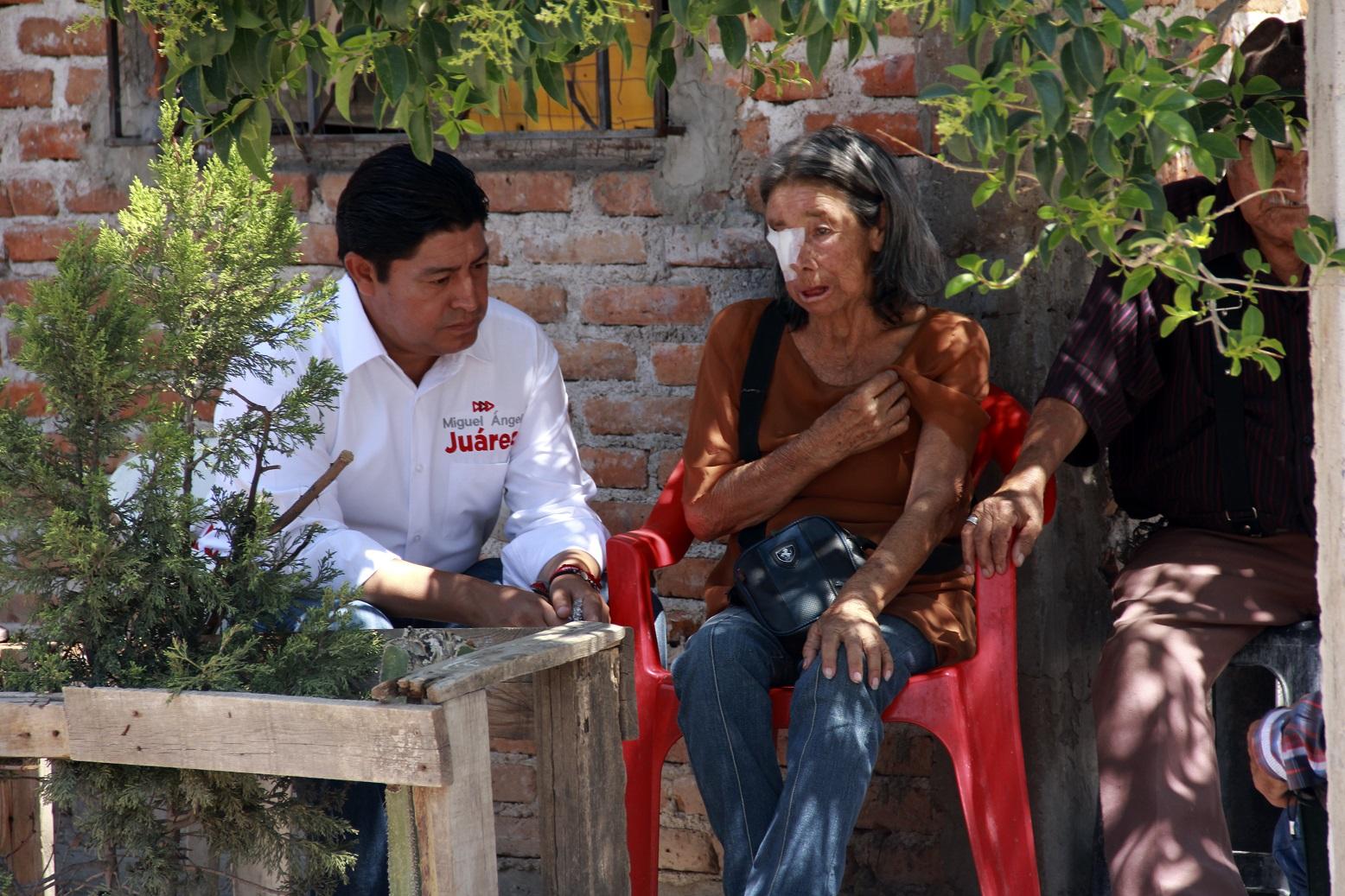 LA CREACIÓN DEL INSTITUTO DEL ADULTO MAYOR, SERÁ MI LUCHA: MIGUEL ÁNGEL JUÁREZ