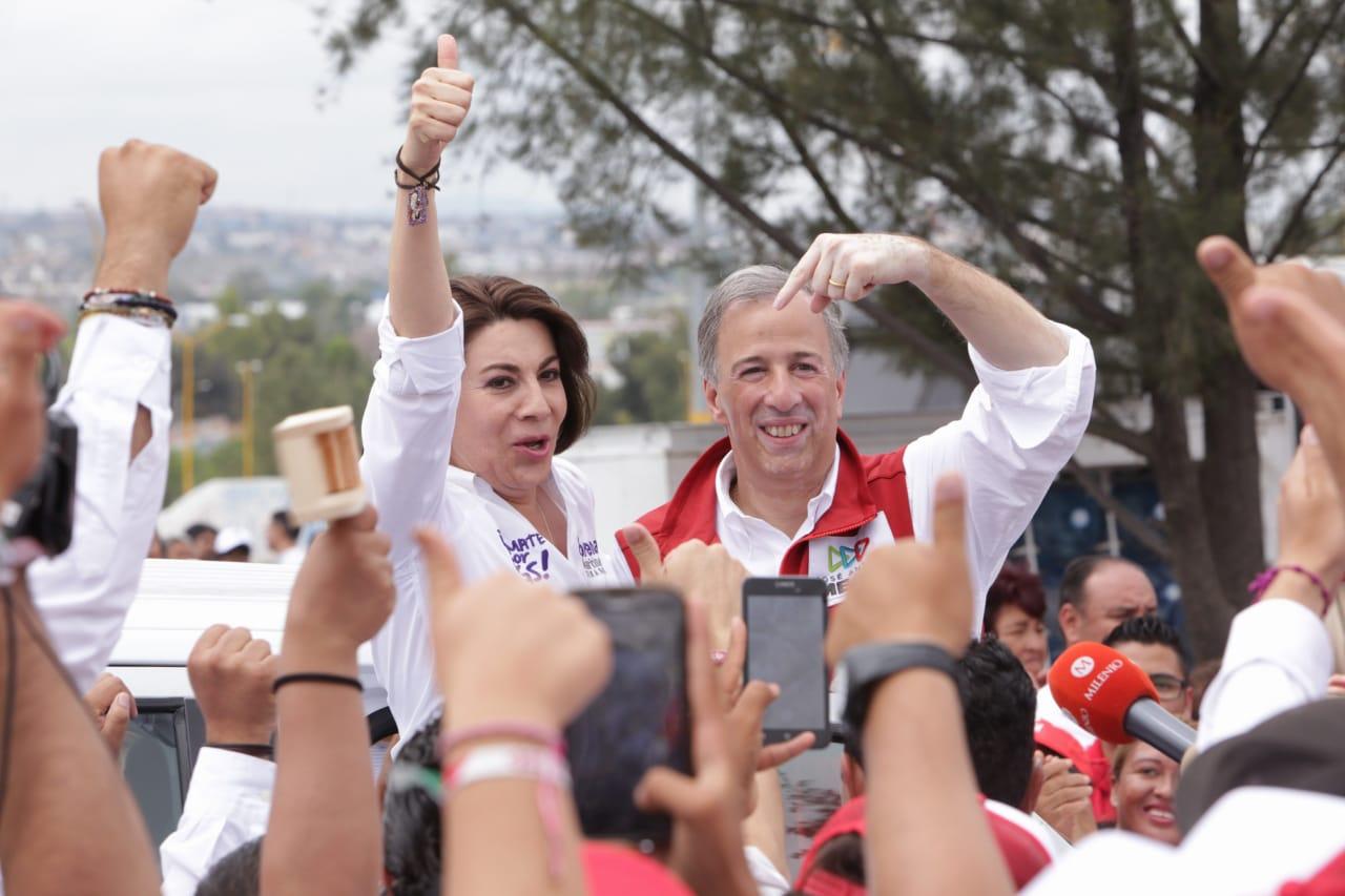 ES MEADE QUIEN GARANTIZA UN FUTURO CON CERTIDUMBRE PARA MÉXICO: LORENA MARTÍNEZ