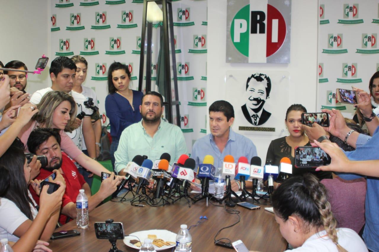 EL PRI CONTRIBUYE SIEMPRE AL FORTALECIMIENTO DE LA DEMOCRACIA: CARLOS GANDARILLA