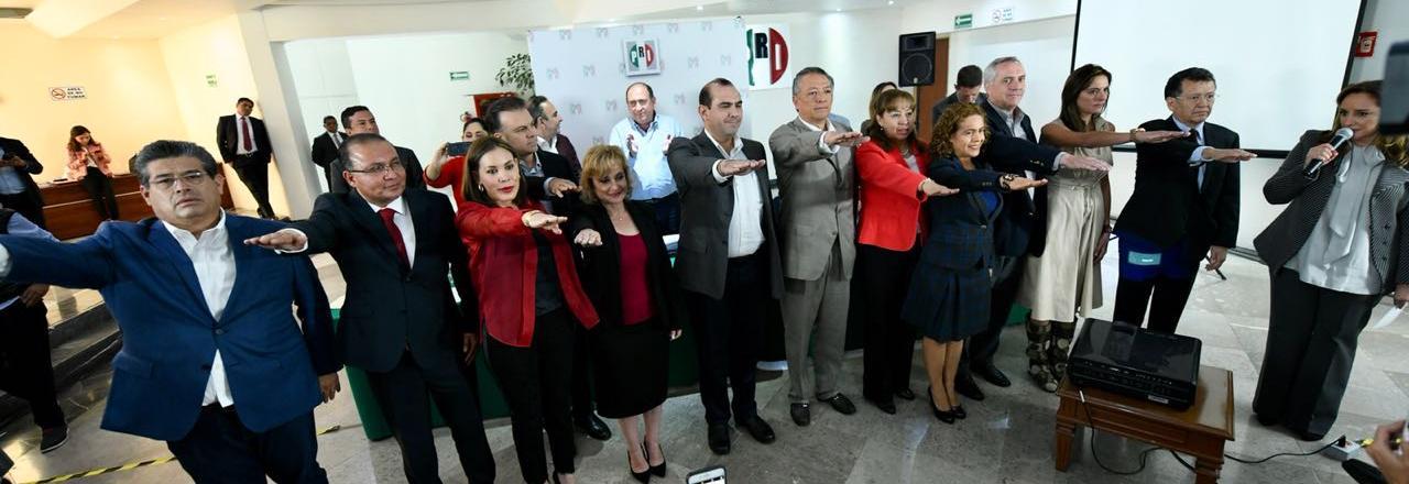 DESIGNAN A SERGIO JACOBO GUTIÉRREZ COMO VICEPRESIDENTE DE LA MESA DIRECTIVA DE LA CONFERENCIA NACIONAL DE LEGISLADORES LOCALES PRIISTAS