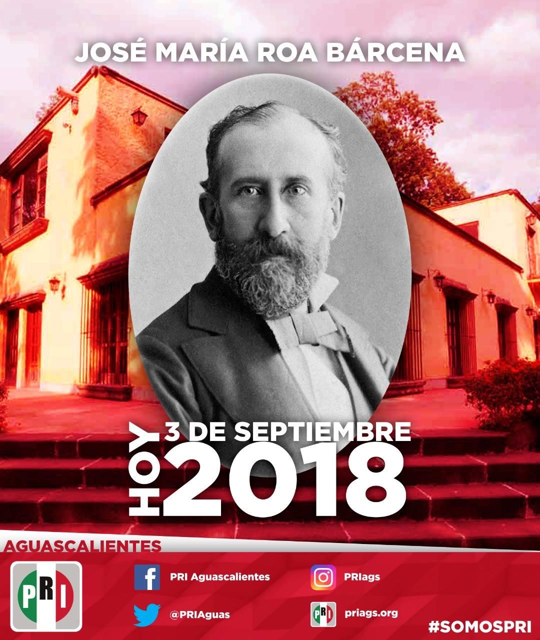 #UnDíaComoHoy 3 de Septiembre pero de 1927, Nace José María Roa Bárcena, miembro fundador de la Academia M...