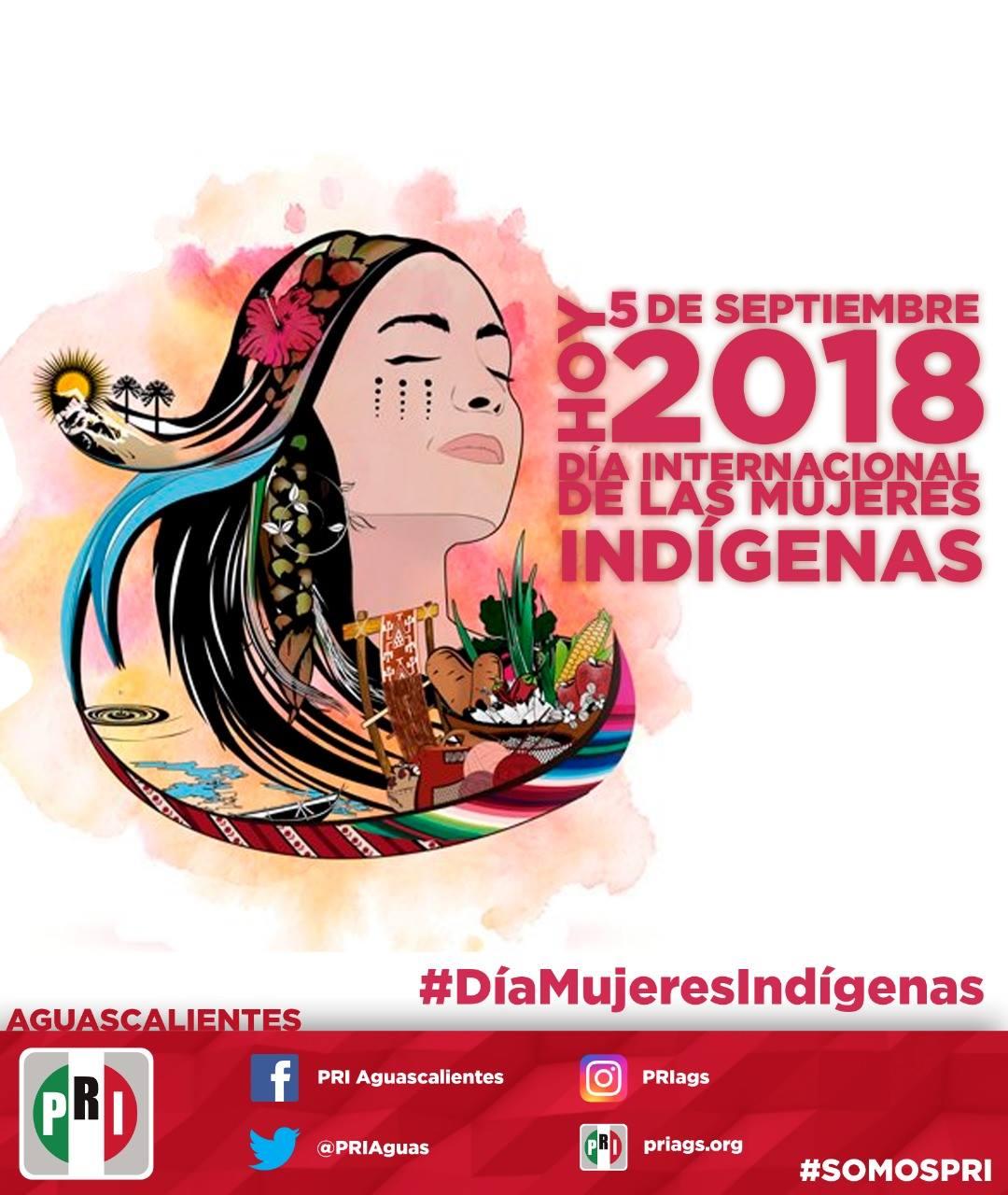 #DíaDeLaMujerIndígena