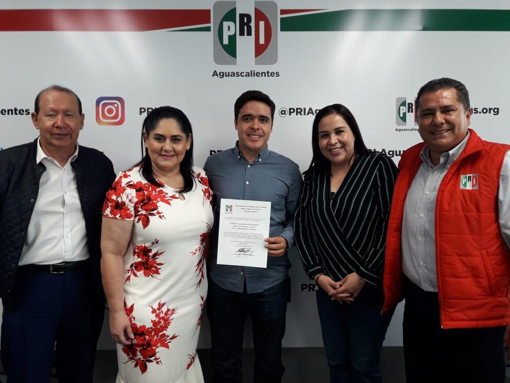 TODO EL RESPALDO DEL CEN DEL PRI PARA AGUASCALIENTES EN EL PROCESO DE DEMOCRATIZACIÓN