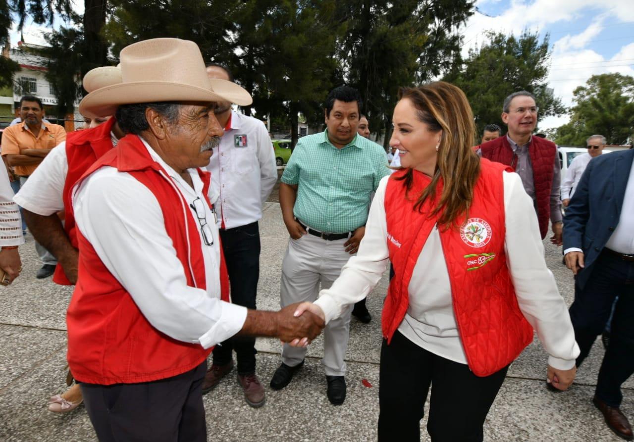 INICIA RUIZ MASSIEU GIRA DE TRABAJO POR EL ESTADO DE AGUASCALIENTES