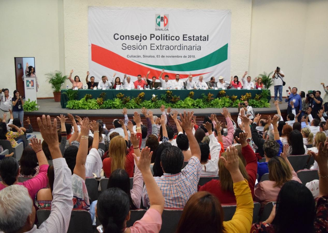 ASAMBLEA DE CONSEJERAS Y CONSEJEROS  POLÍTICOS SERÁ EL MÉTODO PARA ELEGIR NUEVA DIRIGENCIA