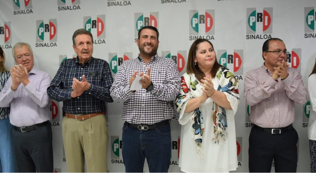 JOSÉ MANUEL CERVANTES CASTRO Y ADELAIDA AYÓN LARES DIRIGENCIA PROVISIONAL DEL CDE DEL PRI EN SINALOA