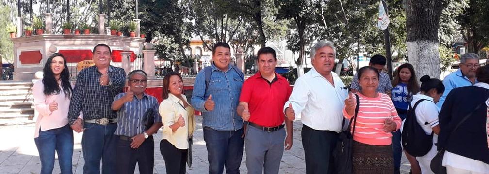 PRIISTAS VAN EN UNIDAD A CONSULTA NACIONAL POR DESARROLLO DEL ESTADO CON EL TREN TRANSÍSTMICO