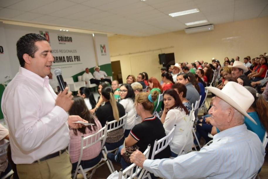 """Inicia Fundación Colosio Coloquios Regionales 'La Reforma del PRI"""" en el municipio Elota"""
