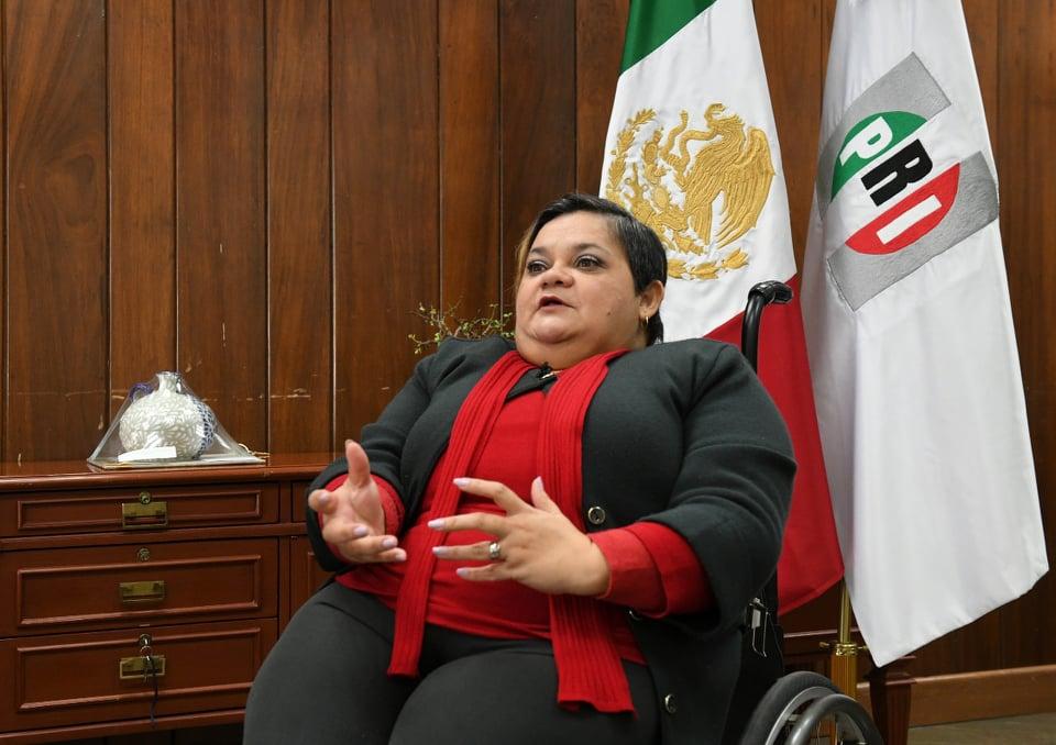 LOGRAR UN MÉXICO MÁS INCLUYENTE, DONDE NADIE  QUEDE ATRÁS, META DEL PRI: NORMA ACEVES