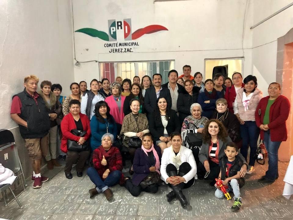 MUJERES PRIISTAS DE JEREZ SE SUMAN AL TRABAJO DE REVISIÓN Y ACTUALIZACIÓN DE ESTRUCTURAS PARTIDISTAS