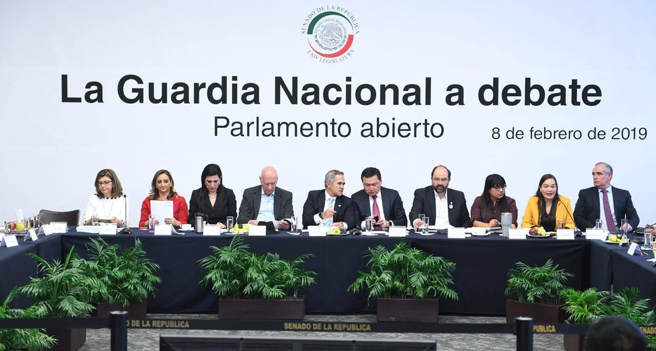 REITERA EL PRI SU VOLUNTAD PARA LOGRAR  ACUERDOS EN LA CREACIÓN DE LA GUARDIA NACIONAL