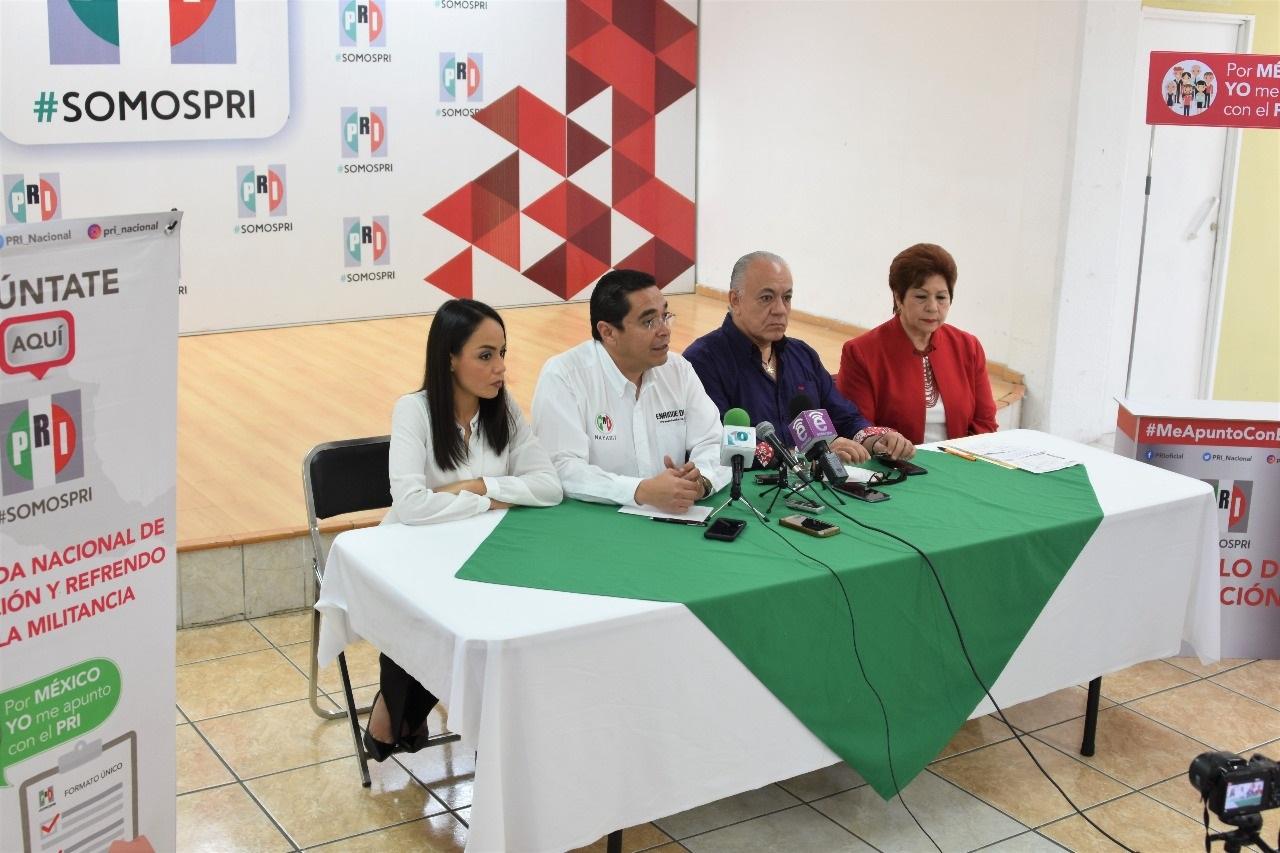 ARRANCA JORNADA DE AFILIACIÓN Y REFRENDO DE LA MILITANCIA DEL PRI EN NAYARIT