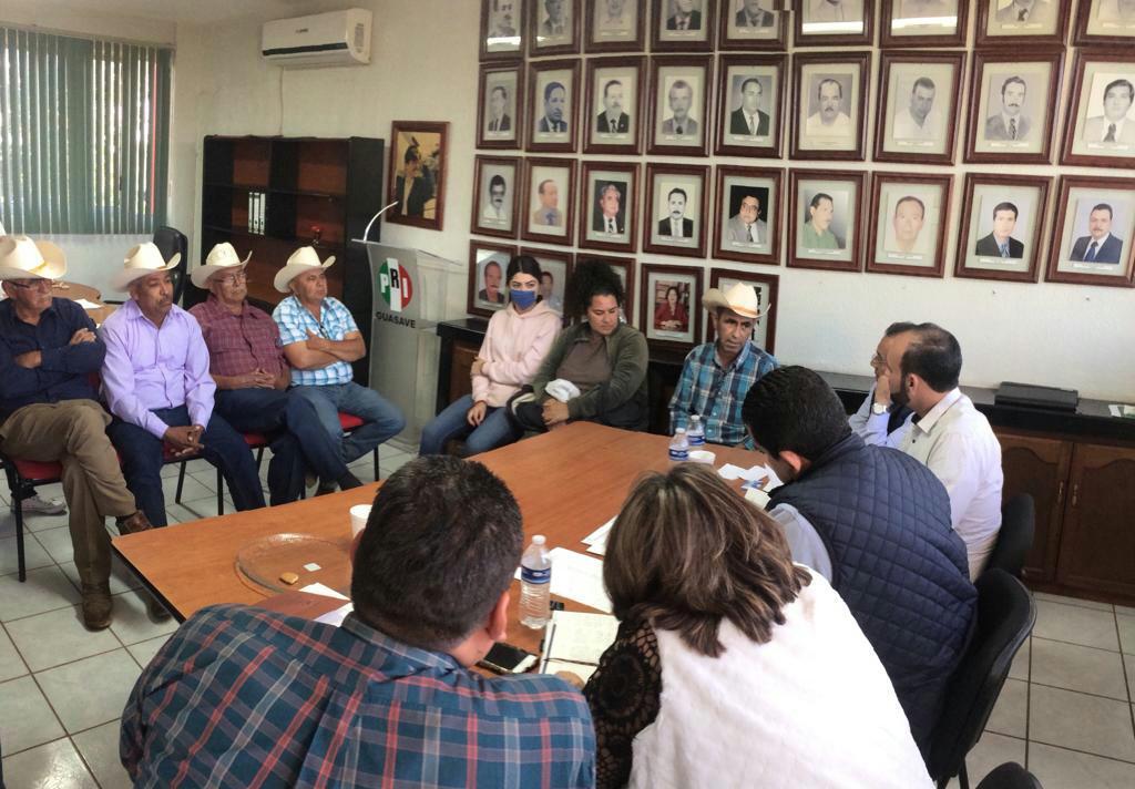 RECORRE JESÚS VALDÉS LOS MUNICIPIOS DE GUASAVE Y MAZATLÁN