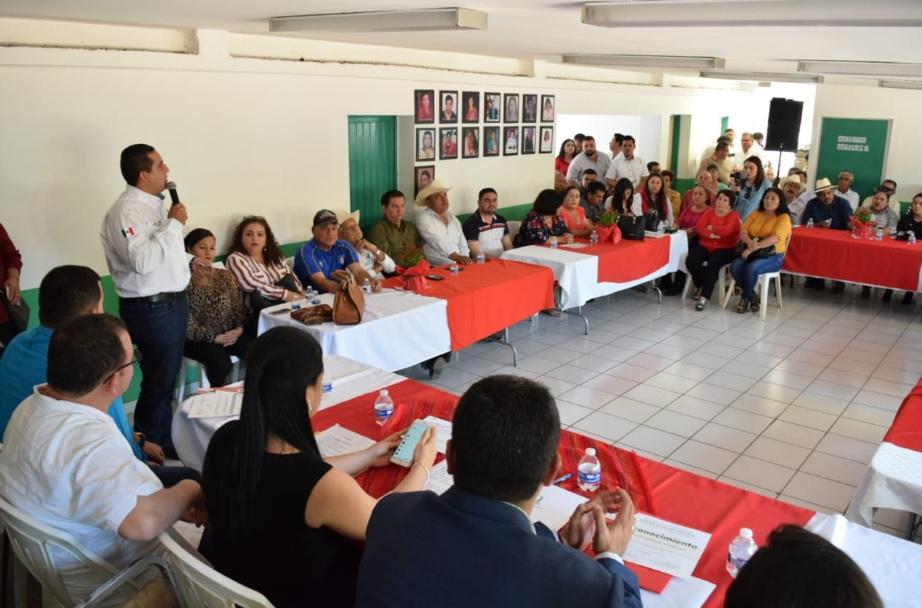 ENCABEZA JESÚS VALDÉS EN ELOTA EVENTO CONMEMORATIVO DEL 90 ANIVERSARIO DEL PRI
