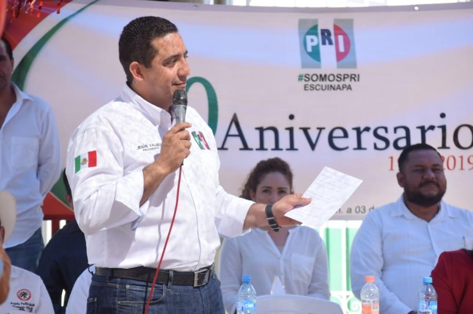 RECORRE JESÚS VALDÉS LOS MUNICIPIOS DE ESCUINAPA, ROSARIO Y CONCORDIA