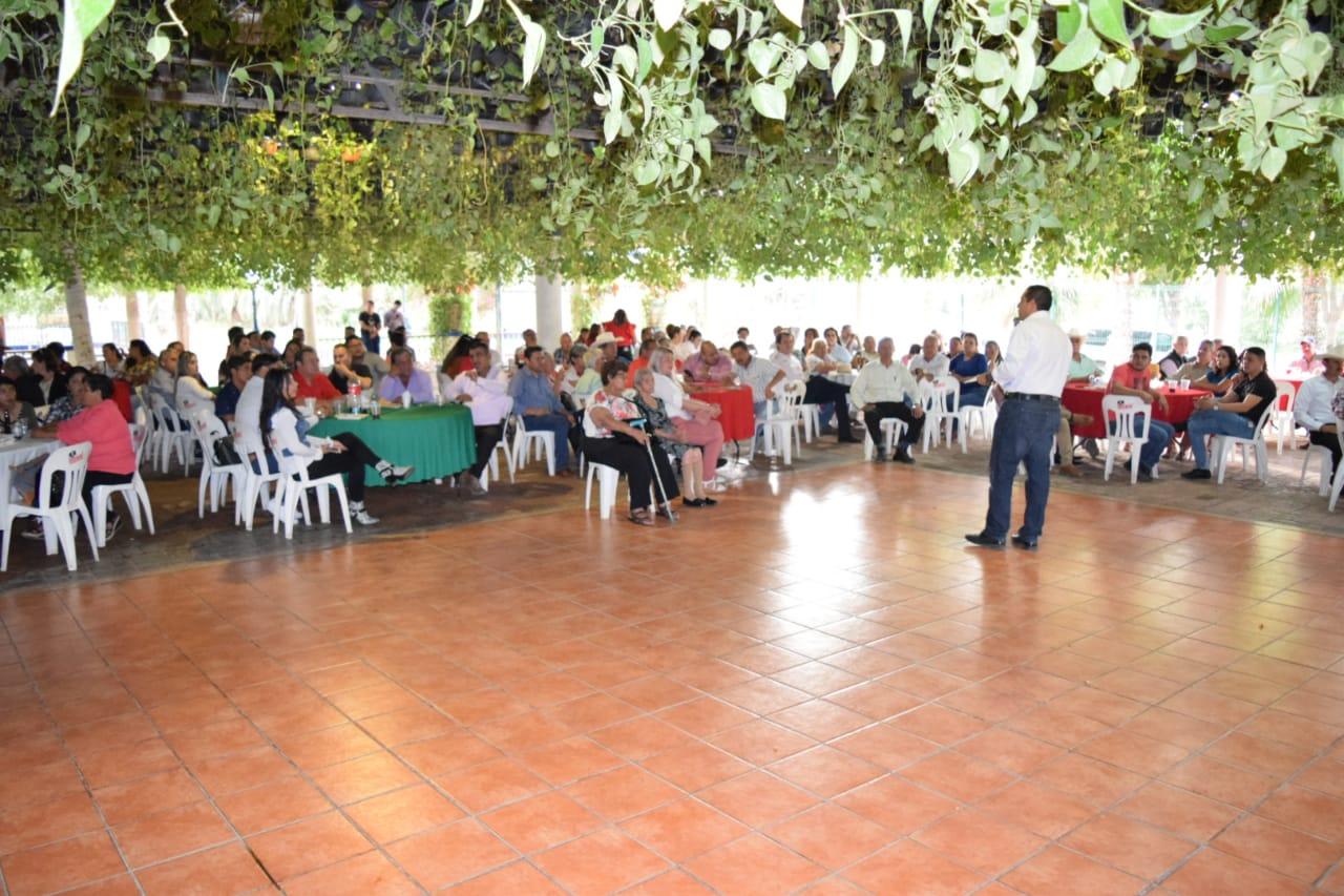 CONCLUYE JESÚS VALDÉS RECORRIDO POR SINALOA CON MOTIVO DEL 90 ANIVERSARIO DEL PRI