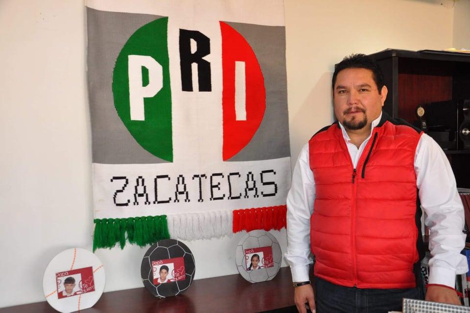 AVALA EL PRI EL TRABAJO DEL GOBERNADOR EN EL CONTRATO CON ZACATECAS