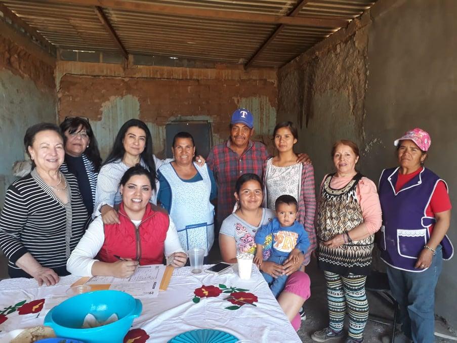 LLEVA EL PRI PROGRAMA DE AFILIACIÓN A COMUNIDADES EMILIANO ZAPATA, EN GUADALUPE Y EL MORAL, EN JEREZ
