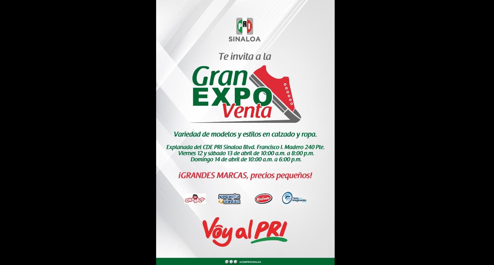 Gran Expo Venta de calzado y ropa para toda la familia
