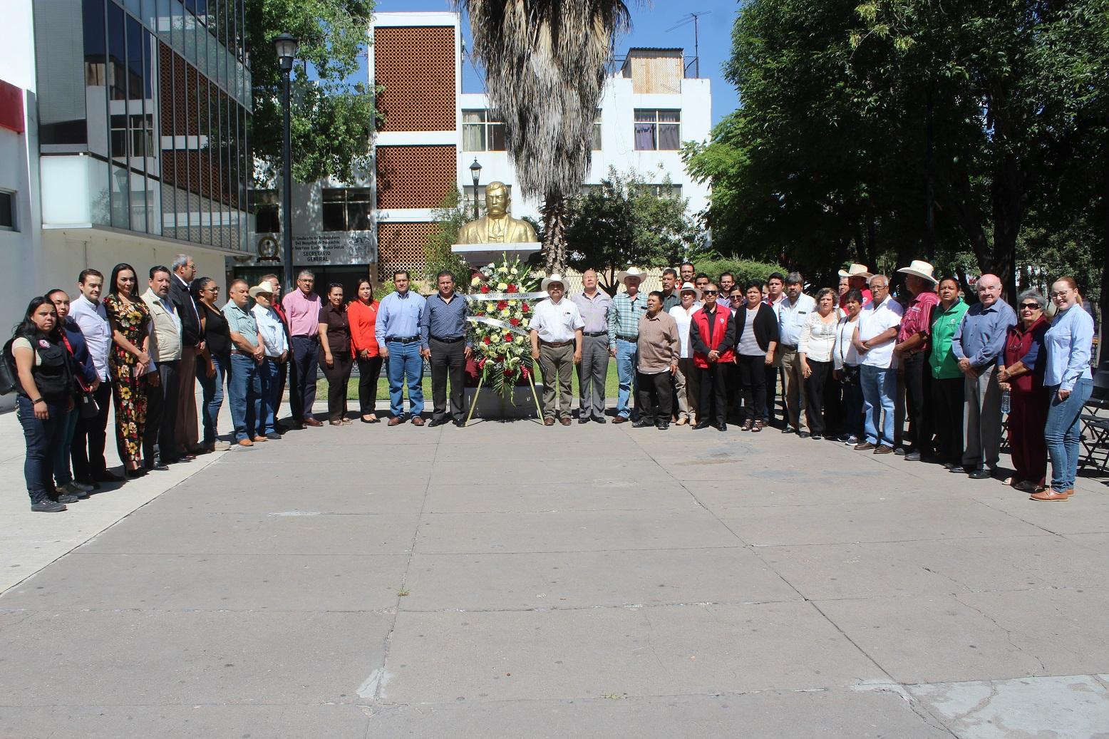 PRI CONMEMORA EL ANIVERSARIO LUCTUOSO DE EMILIANO ZAPATA