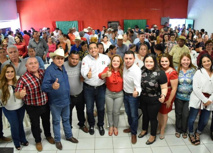 Designa Jesús Valdés a Samuel Aragón Rivas al frente del PRI en Cosalá.