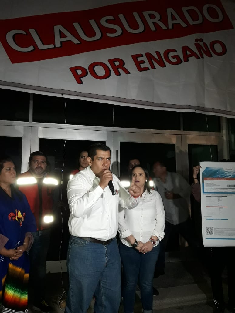 VEOLIA CLAUSURADA POR ENGAÑO EN AGUASCALIENTES: NETZA VENTURA