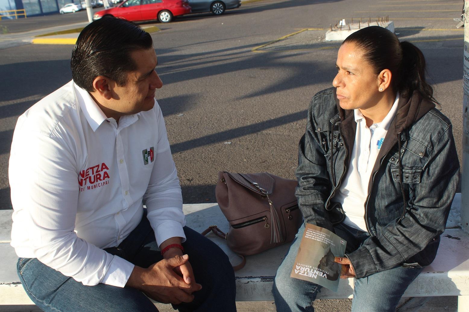 LOS PROBLEMAS COMUNES QUE ENFRENTAN LOS CIUDADANOS DE AGUASCALIENTES; UN DÍA DE CAMPAÑA DE NETZA VENTURA